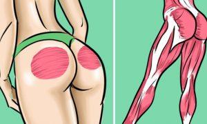 Не надо приседать! 5 крутых упражнений для упругой попы и грациозных ног