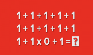 90% людей не могут решить этот пример. А вы сможете?