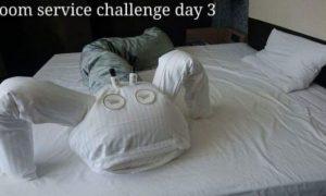 Мужчина решил подшутить над горничной в отеле. Вот что он нашел на своей кровати, когда вернулся…