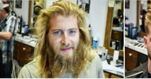Он пришел лишь подправить бороду. Но у парикмахера было свое видение образа