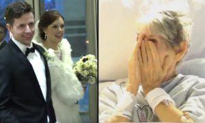Бабушка не смогла пойти на свадьбу внучки. То, что сделала внучка довело бабушку до слез!