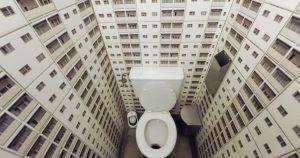 15 дизайнерских решений для туалетов, оригинальность которых вас удивит