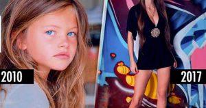 От милого ребенка к топ-модели: 13 фото взросления Тилан Блондо