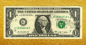 По миру ходят долларовые банкноты стоимостью в тысячи. Просто посмотрите на номер купюры