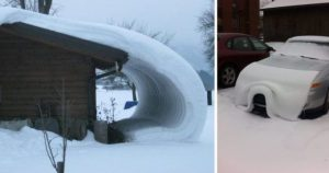 16 фотографий, которые заставят вас сказать «снег, ты пьян, иди домой!»