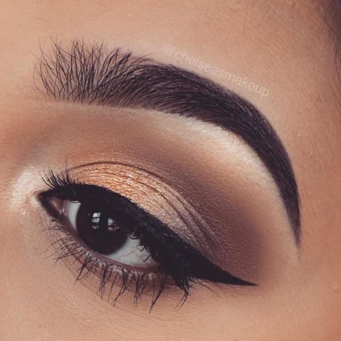 Сохрани для себя. 14 потрясающих идей макияжа для девушек с карими глазами