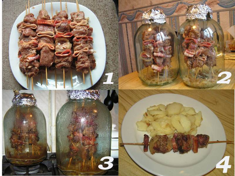 Оригинальный рецепт шашлыка в банке, без мангала и углей