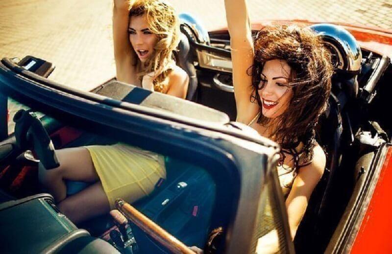 История женщины за рулем :) Читаем до конца! Такое только женщина может