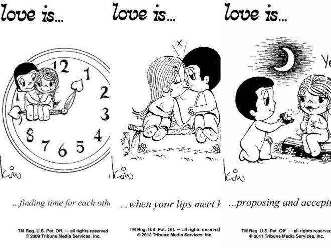 Love is: трагичная история любви пары, подарившей миру милые вкладыши!