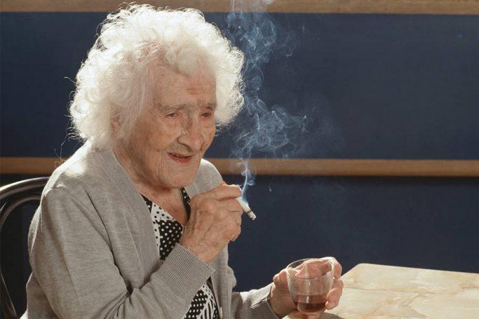 Жанна Кальман, самая старая женщина в мире, дожившая до 122 лет