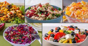 5 салатов, и все без майонеза
