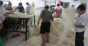 Вот так китайцы делают рис и наверное продают нам