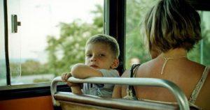 Мальчик пинал девушку ногой, а мама не хотела успокоить ребенка и тогда…