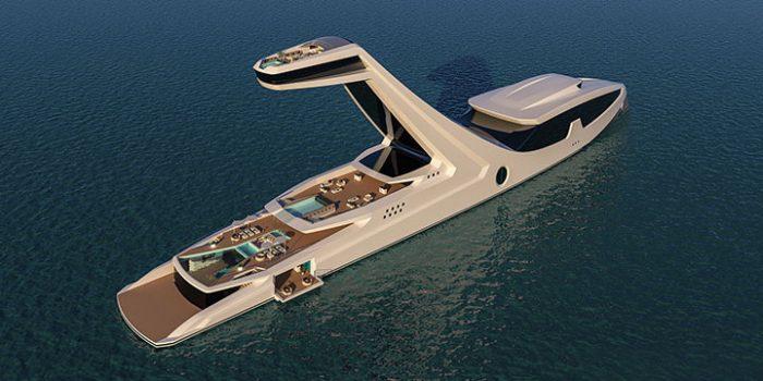 Эта Яхта За 250 Миллионов Долларов Сведет Вас С Ума. Её Фишка — Самая Необычная Каюта!