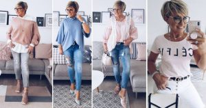 Джинсы для женщин 40+. Создаем стильный образ (с примерами)