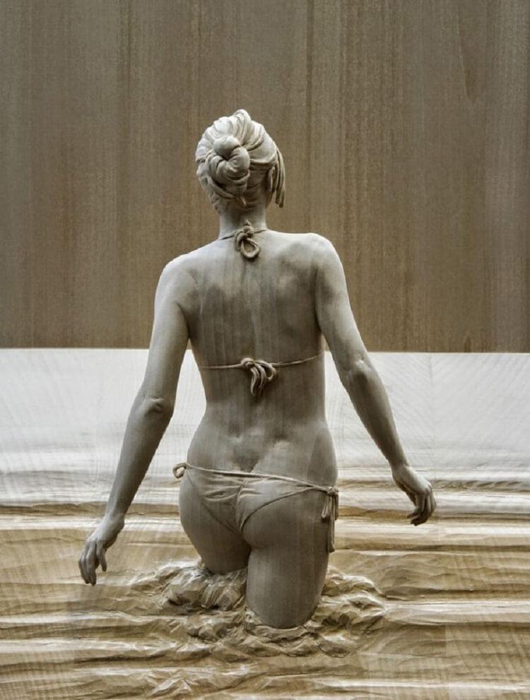 22 невероятно реалистичные скульптуры из дерева, от которых по коже бегут мурашки