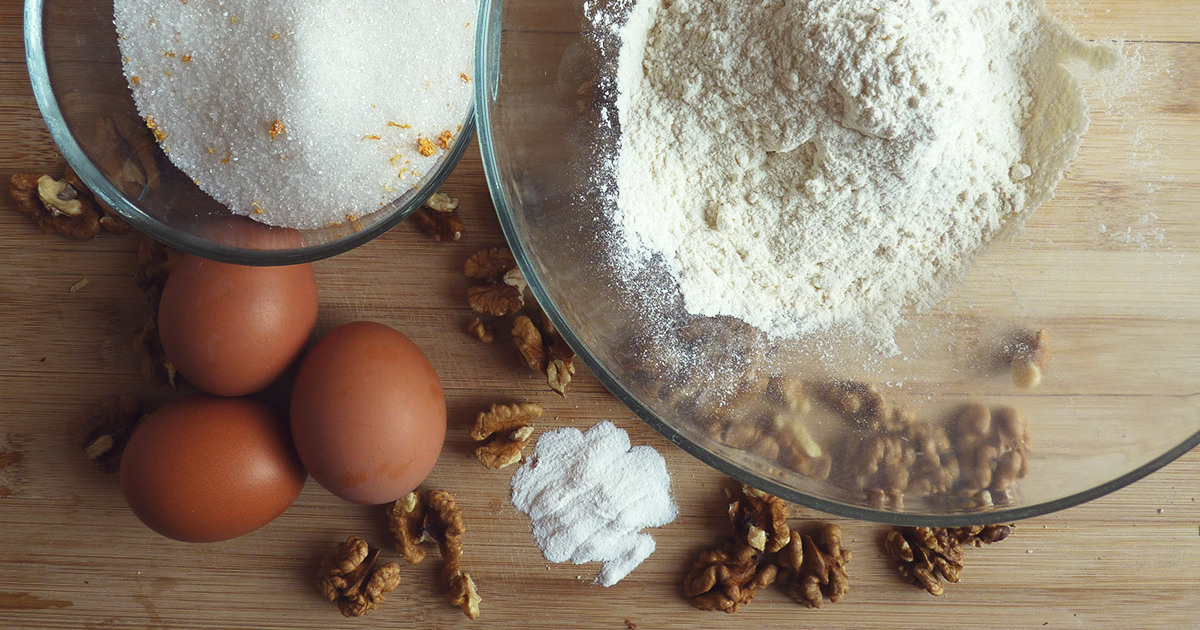 Ореховый тортик почти без муки: рецепт привезла из Италии