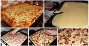 Пиццу делаю только по этому рецепту – получается очень-очень вкусно! И никогда не остается ни кусочка!