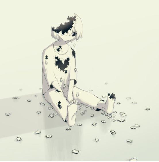 Японский художник рисует те чувства, которые испытывал каждый, но не мог описать словами