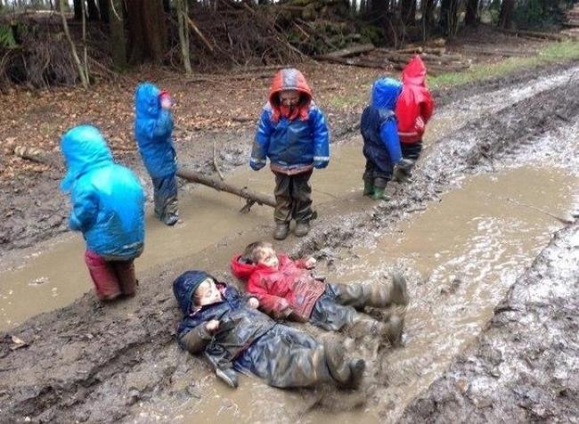 Фото детей, которые знают как проводить свободное время!