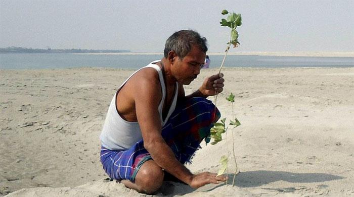 Мужчина ежедневно сажал по 1 дереву в пустыне. Спустя 40 лет он стал легендой.