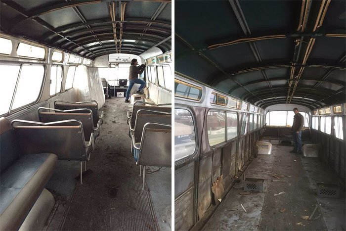 Девушка купила старый раздолбанный автобус за копейки. И превратила его в настоящие царские хоромы!