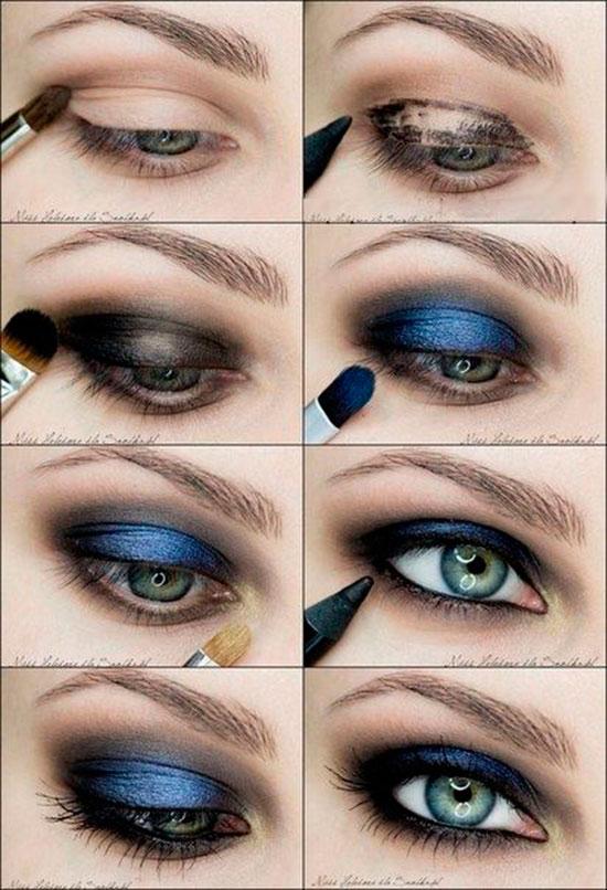 Самые лучшие идеи макияжа для девушек. С инструкцией. Легко