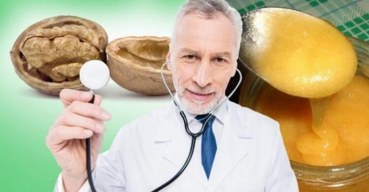 Грецкие орехи с медом — средство, рекомендованное врачами