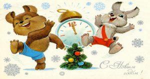 Старые добрые новогодние открытки… В них столько тепла и нежности