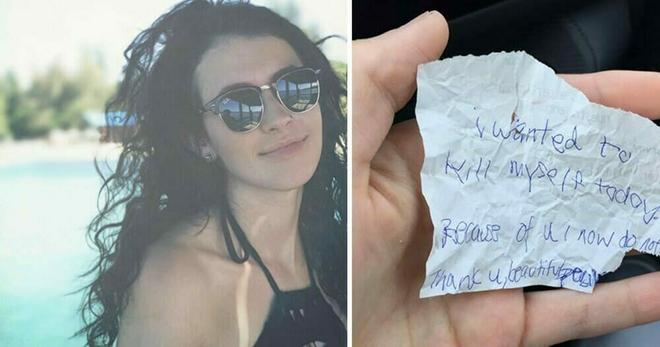 Студентка купила еду бездомному. Час спустя он протянул ей смятую записку, содержание которой тронуло меня до слёз