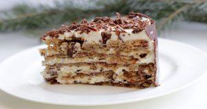 Ореховый торт почти без муки! Рецепт привезен из Италии