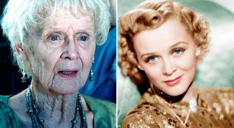 Помните пожилую Розу из фильма «Титаник»? Вот какой она была в молодости…