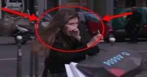 Вот как французы отучают пешеходов ходить на красный