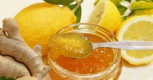 Лимонно-имбирный джем для иммунитета