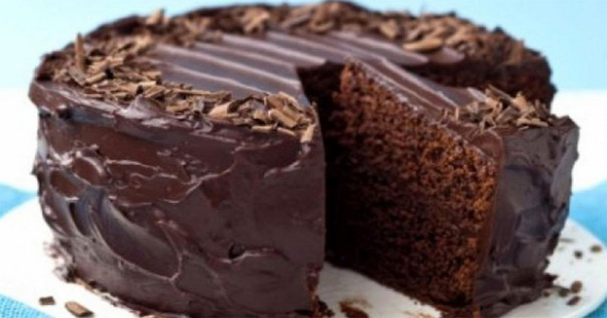 Супервлажный шоколадный пирог без яиц
