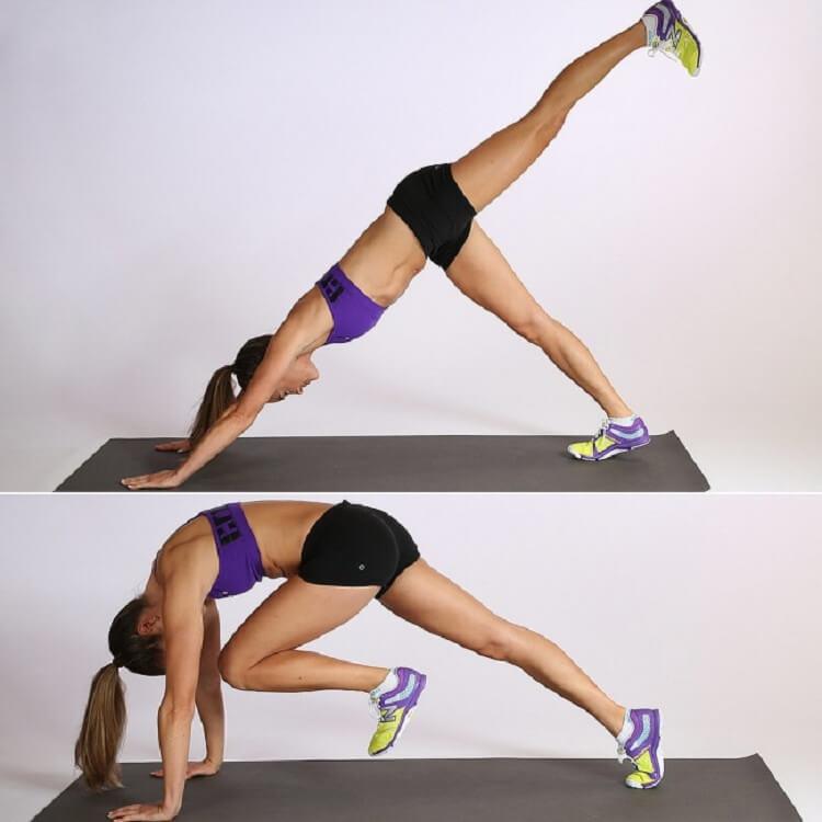 7 упражнений, которые преобразят ваше тело всего за 4 недели ! Нужны лишь сила воли и 10 минут в день