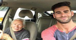 Невероятно, но это правда: молодой парень предложил своей 89-летней подруге жить вместе