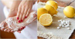 Здоровье Cмешав сок лимона с аспирином я нанесла смесь на ночь на ноги… На следующее утро я была просто в шоке!