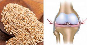 Семена, которые восстанавливают сухожилия и снимают отек в коленях
