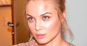 36-летняя Татьяна Арнтгольц впервые после развода вышла в свет с новым возлюбленным