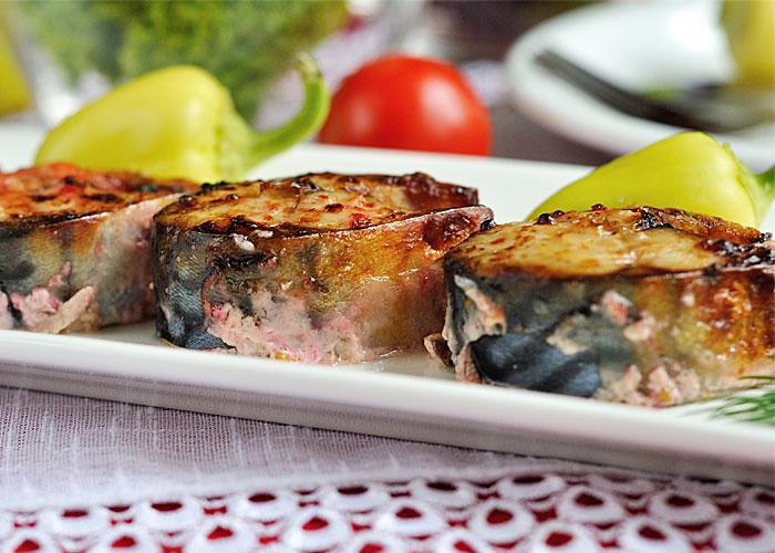 Запеченная скумбрия: вариант диетического обеда