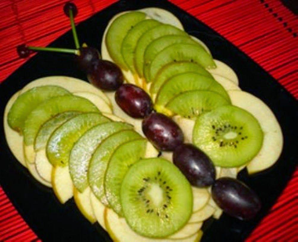 10 классных вариантов фруктовых нарезок