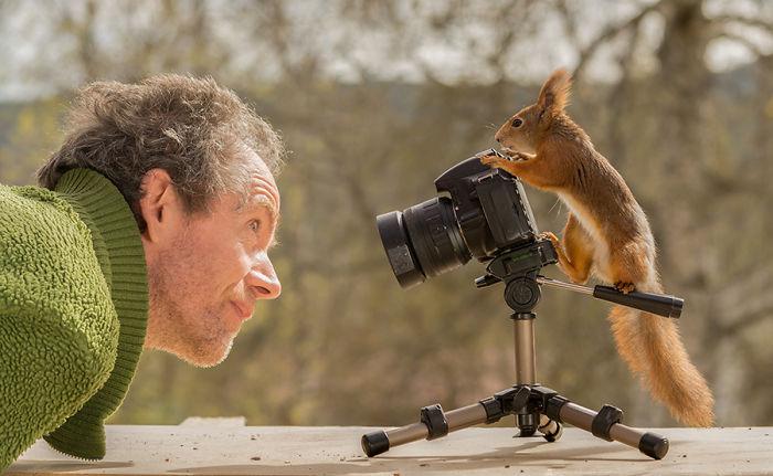 Фотограф 6 лет снимал белок и вот его лучшие работы!