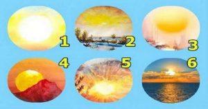 Тест на удачу: выбери солнышко и узнай благоволит ли к тебе Фортуна!