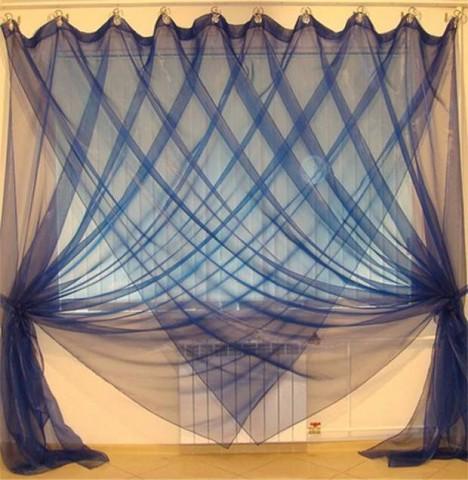 Интересные способы повесить штору без карниза. А Вы бы воспользовались этими идеями?