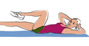 6 упражнений, которые помогут вернуть талию