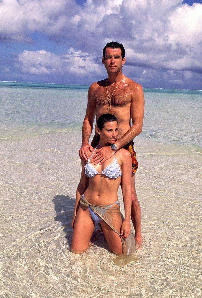 Пирс Броснан и его жена празднуют 25 лет вместе