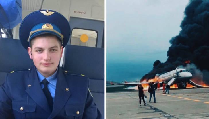 Вечная память герою: 22-летний бортпроводник отдал жизнь за спасение пассажиров Суперджета