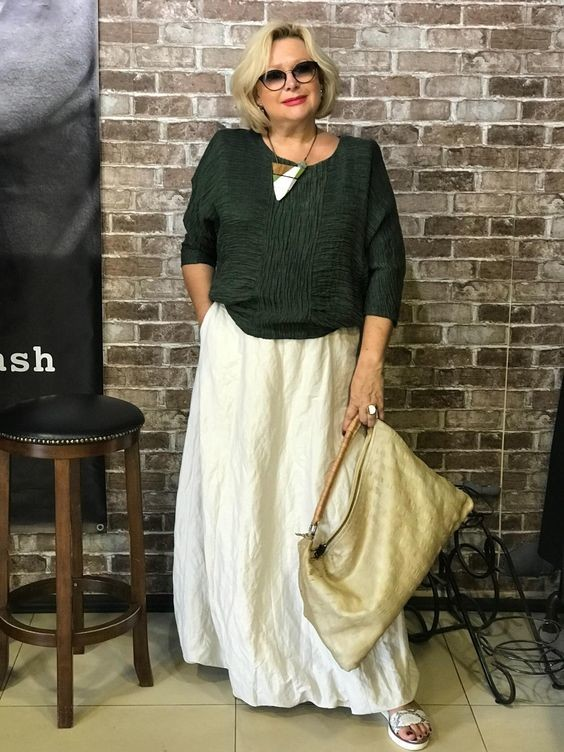 Шикарные образы в стиле бохо для зрелых женщин в 2019 году