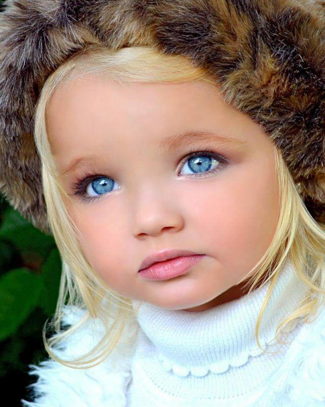 Красота этих детей — настоящий подарок природы